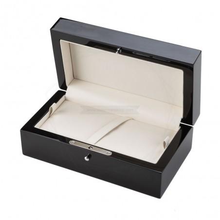 Ekskluzywne pudełko prezentowe w kolorze czarnym [PP3850]