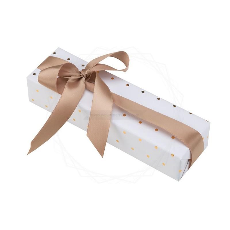 Pakowanie prezentów - papier biały [WZ009]