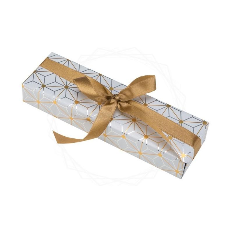 Pakowanie prezentów - papier srebrny [WZ010]
