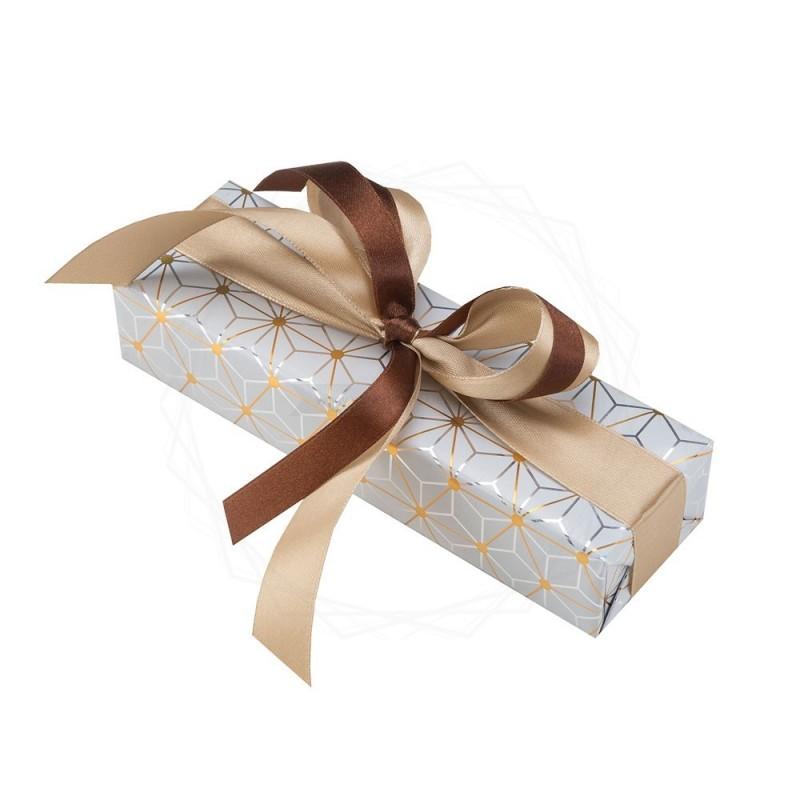 Pakowanie prezentów - papier srebrny [WZ0012]