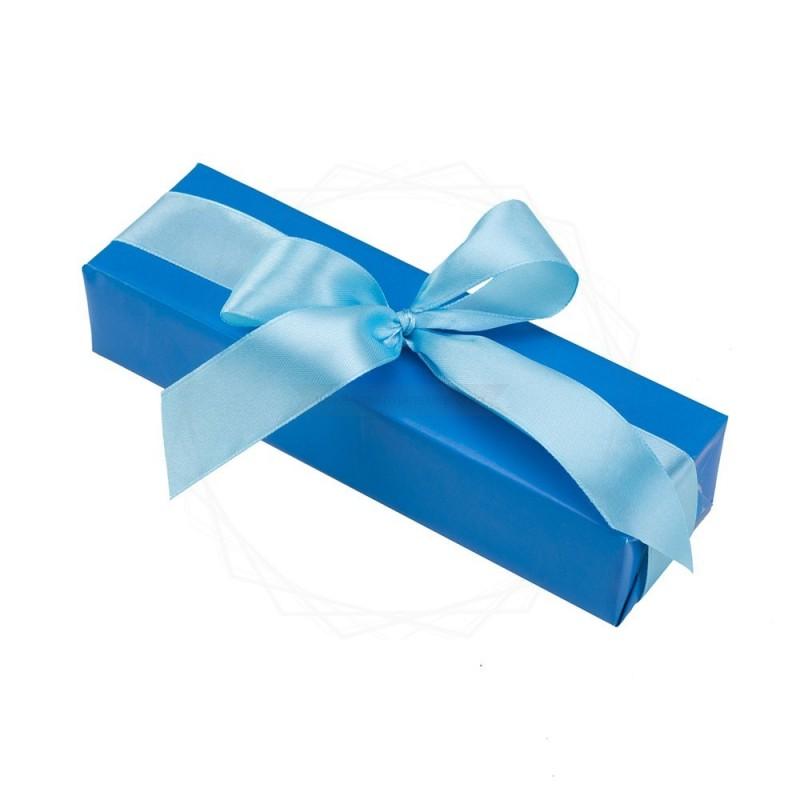 Pakowanie prezentów - papier niebieski [WZ0014]