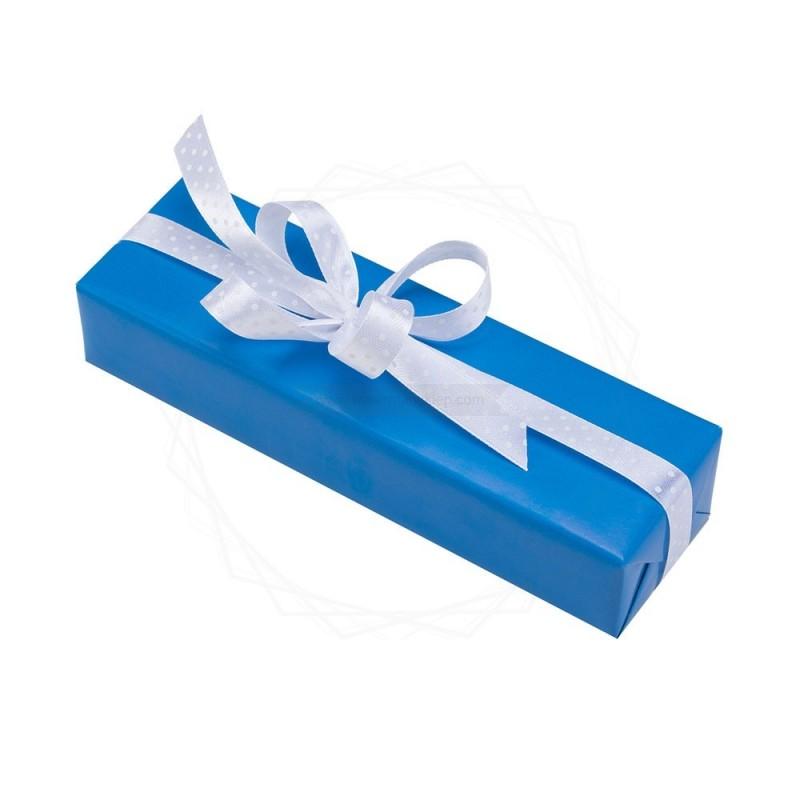 Pakowanie prezentów - papier niebieski [WZ0017]