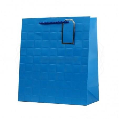 Torebka prezentowa niebieska TA-20 [TP0006]