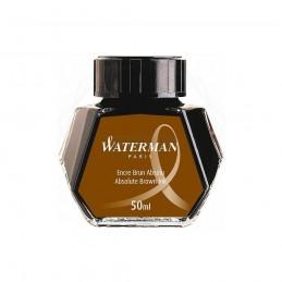 Atrament Waterman brązowy 50ml [S0110830]Atrament Waterman brązowy...