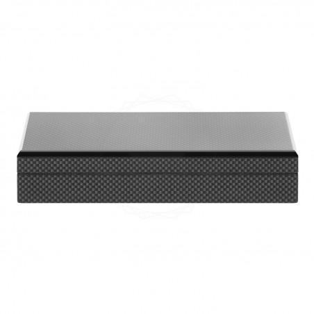 Drewniane, czarne pudełko prezentowe [P0199]