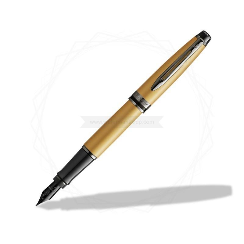 Pióro wieczne Waterman Expert Metalic Złoty [2119257]
