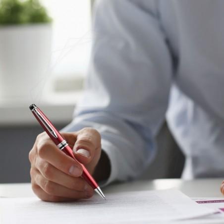 Długopis Waterman Expert czerwony CT [2093653]
