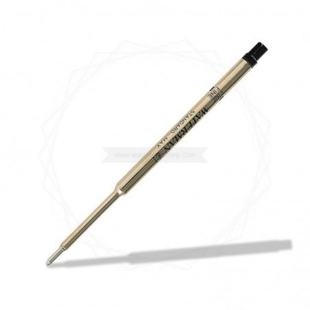 """Wkład do długopisu Waterman Czarny """"F"""" [1964017]"""