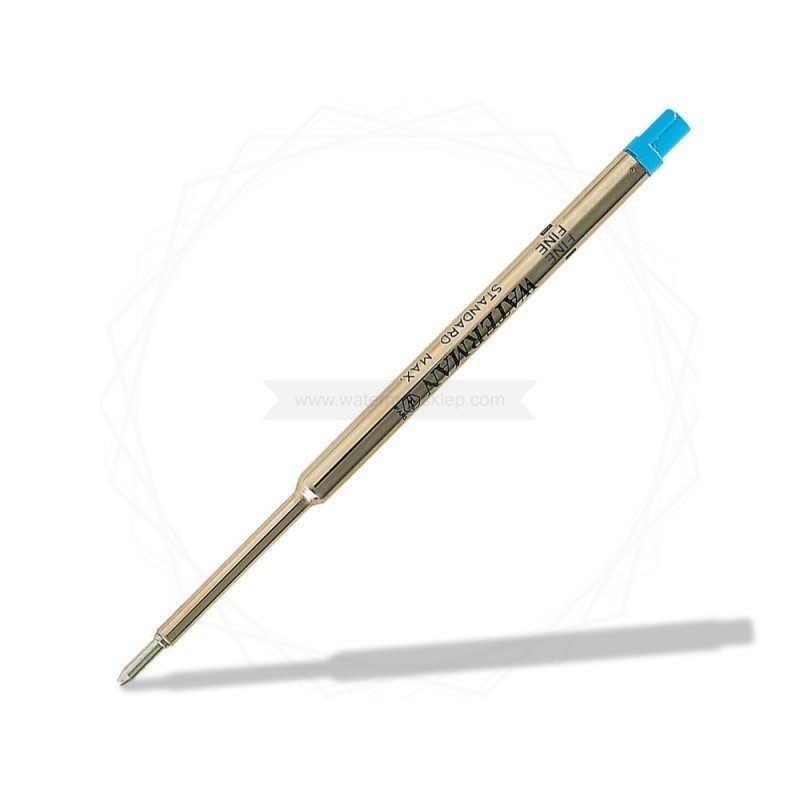 """Wkład do długopisu Waterman Niebieski """"F"""" [1964016]"""