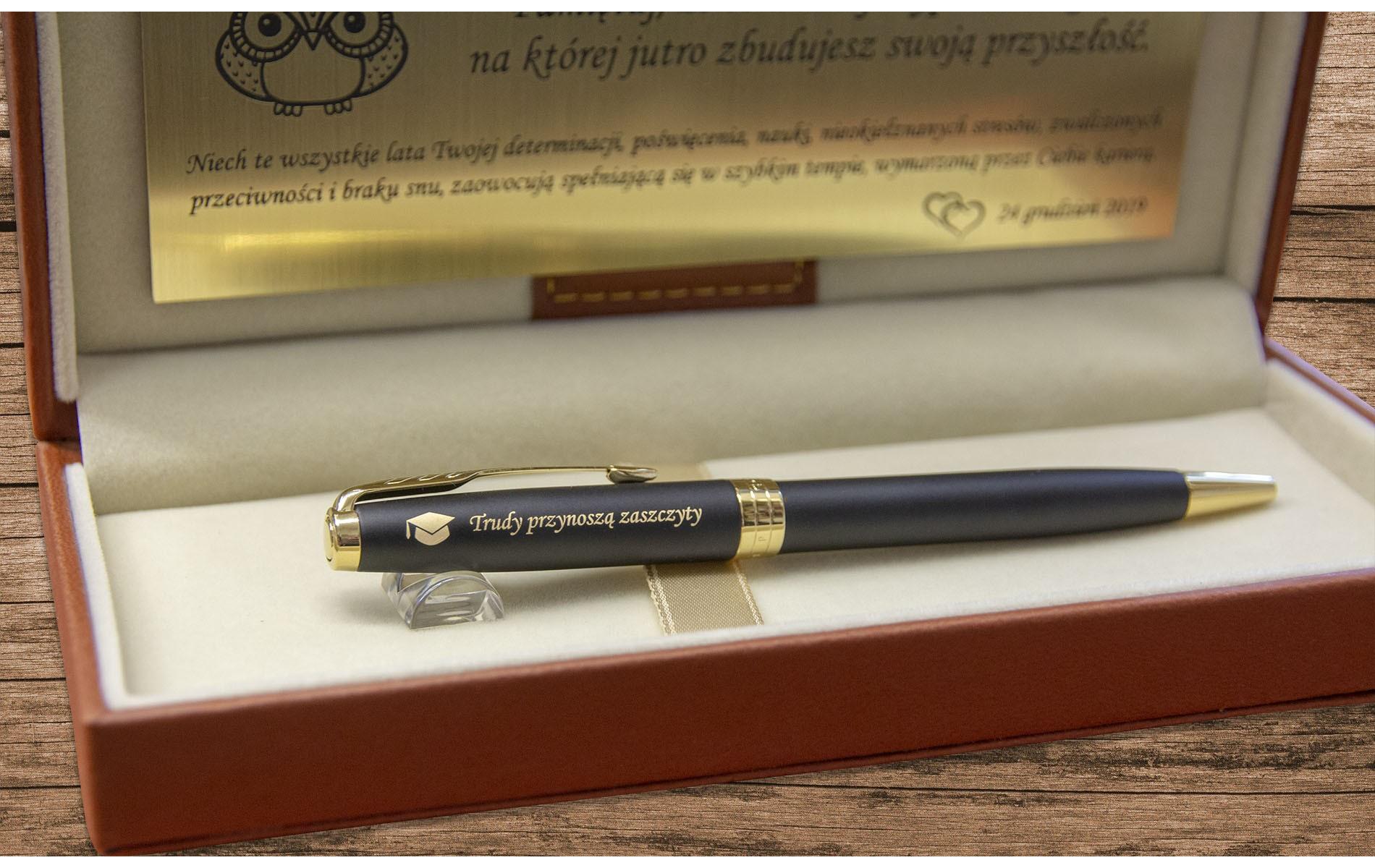 Długopis Waterman Hemisphere czarny matowy GT [S0920770]