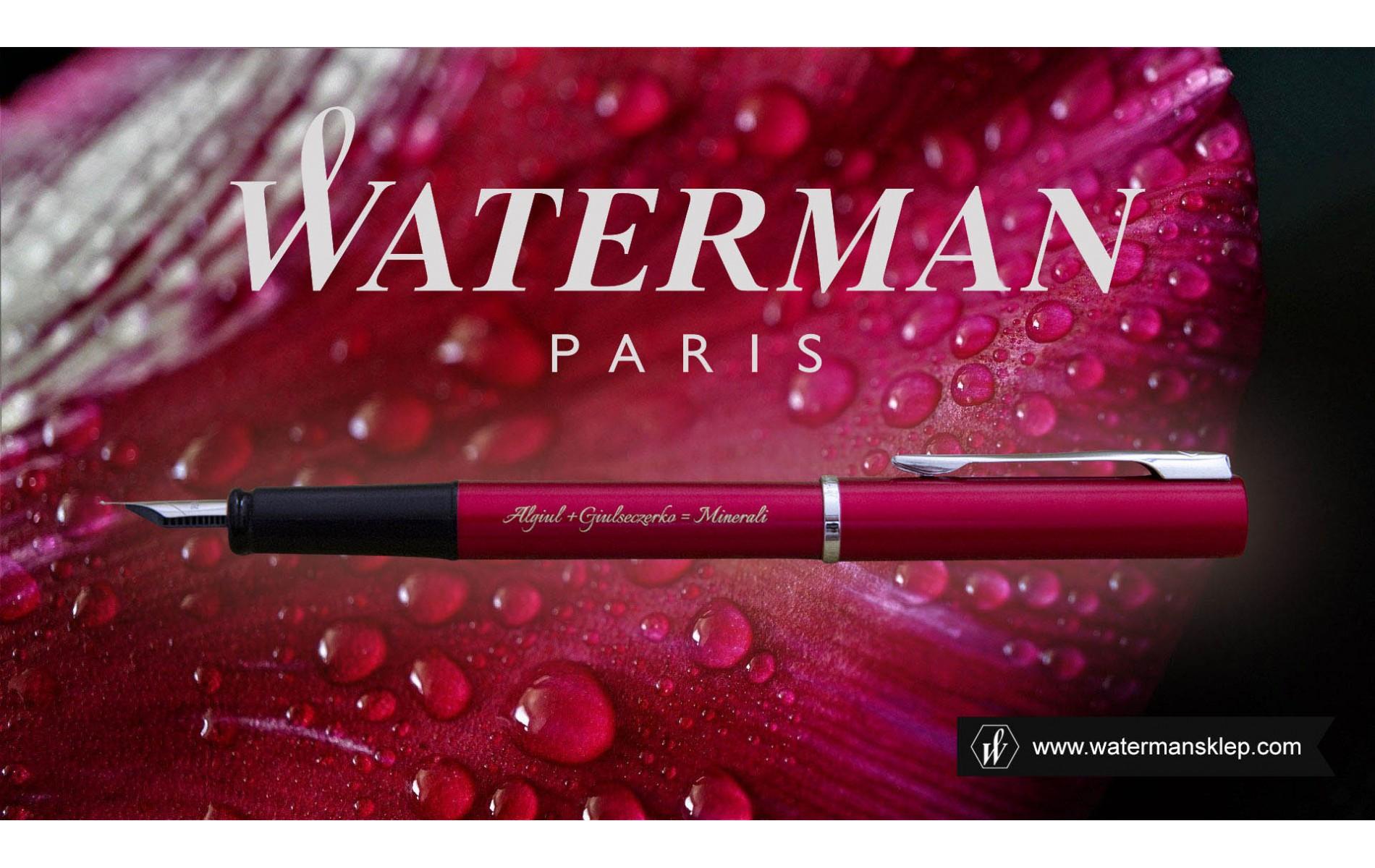 Pióro wieczne Waterman Allure czerwone CT [2068194] z grawerem