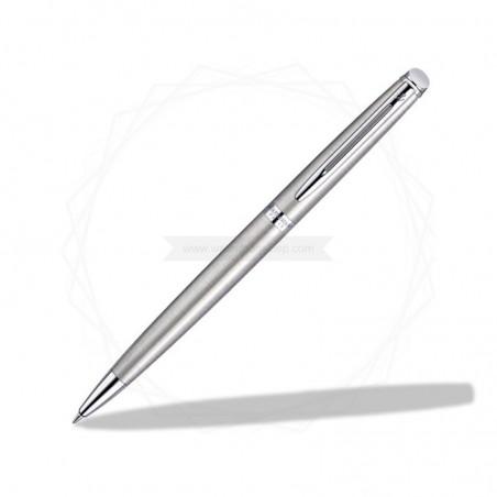 Zestaw Waterman Długopis Hemisphere stalowy CT z grawerem