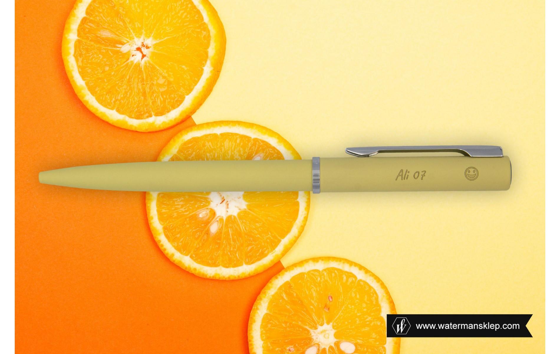 Długopis Waterman Allure żółty CT [2105310] z grawerem