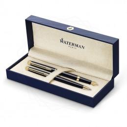 Zestaw Waterman pióro + długopis Hemisphere Czarny GT [KPLH004]Zestaw Waterman pióro +...