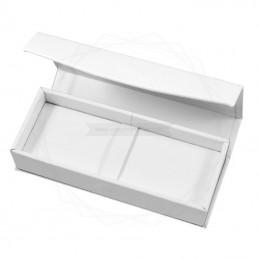 Pudełko prezentowe ze skóry ekologicznej białe [P0189]Pudełko prezentowe ze skóry...