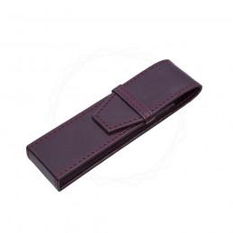 Etui na dwa produkty w kolorze brązowym [E00125]Etui na dwa produkty w...