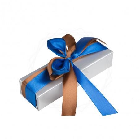 Pakowanie prezentów - papier niebieski [WZ001]