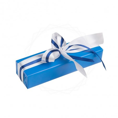 Pakowanie prezentów - papier niebieski [WZ003]