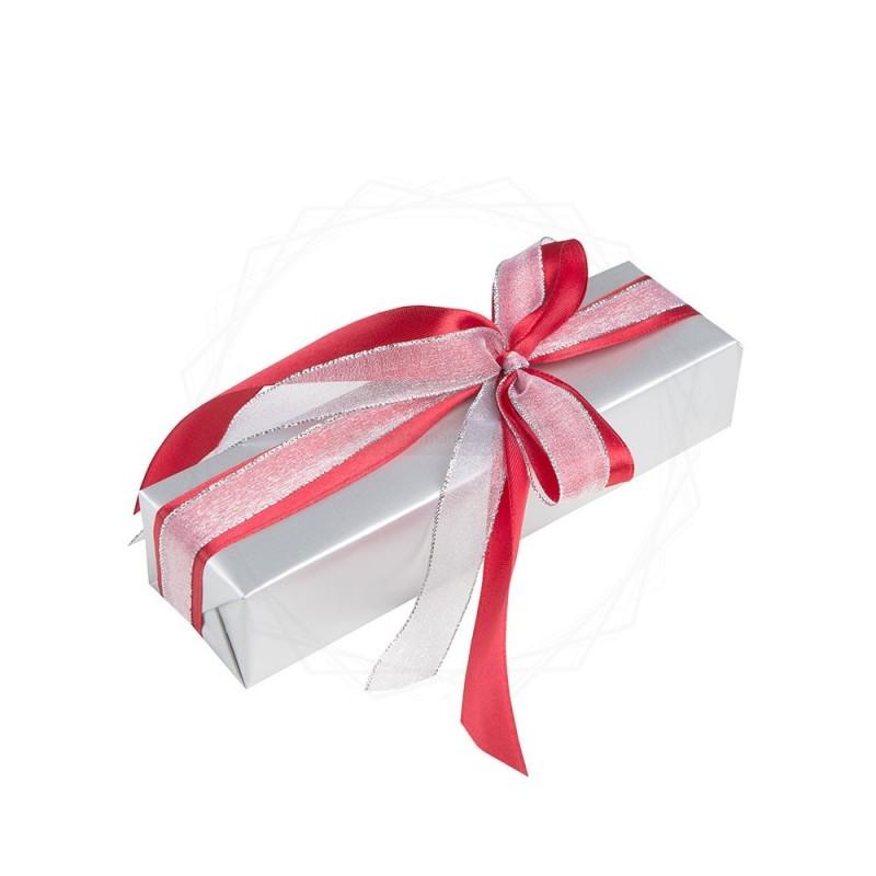 Pakowanie prezentów - papier srebrny [WZ005]