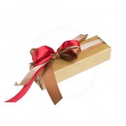 Pakowanie prezentów - papier złoty [WZ007]Pakowanie prezentów -...