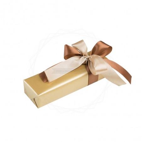 Pakowanie prezentów - papier złoty [WZ008]