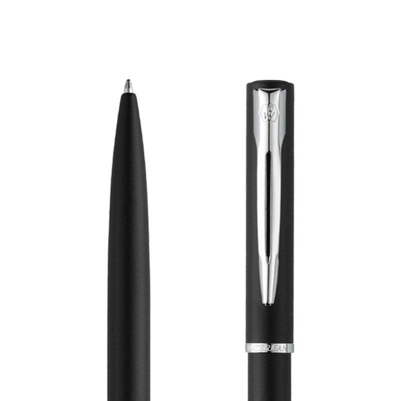 Długopis Waterman Allure czarny matowy CT w porzekroju