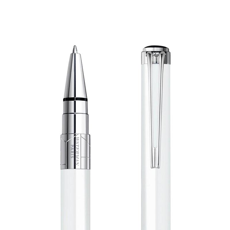 Długopis Waterman Perspective biały CT w przekroju