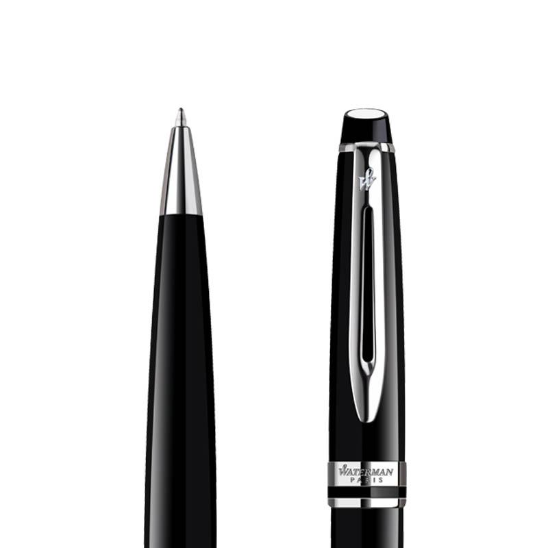 Długopis Waterman Expert czarny CT w przekroju