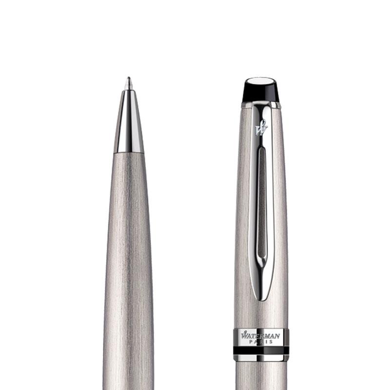 Długopis Waterman Expert stalowy CT w przekroju