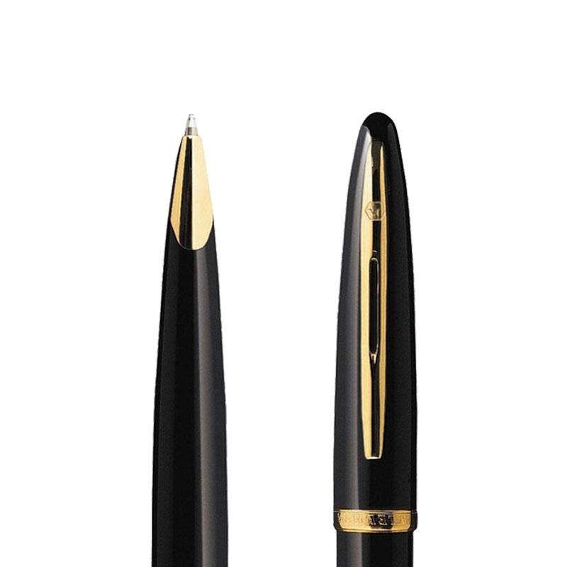 Długopis Waterman Carene Contemporary czarny GT w przekroju
