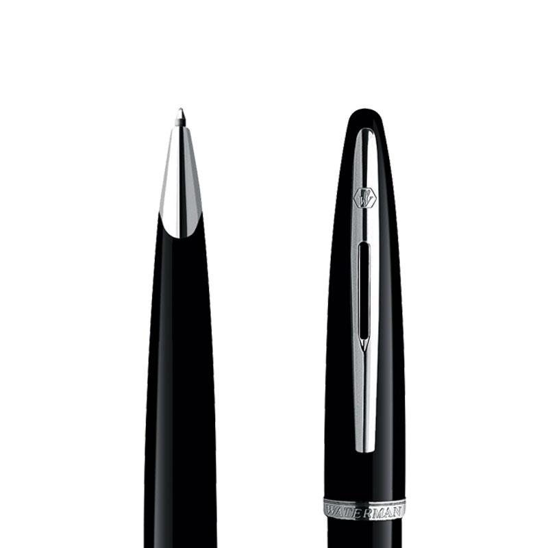 Długopis Waterman Carene Contemporary czarny ST w przekroju