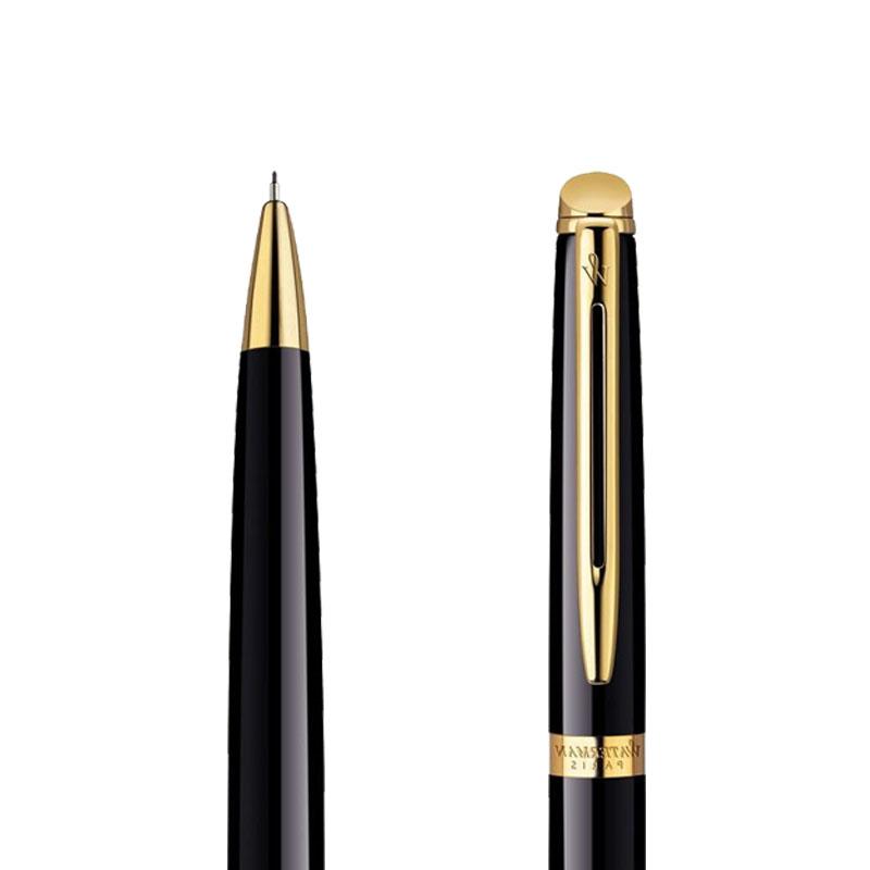 Ołówek Waterman Hemisphere czarny GT w przekroju