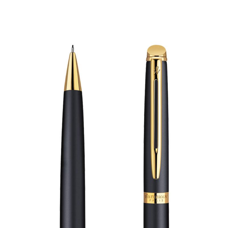 Ołówek Waterman Hemisphere czarny matowy GT w przekroju