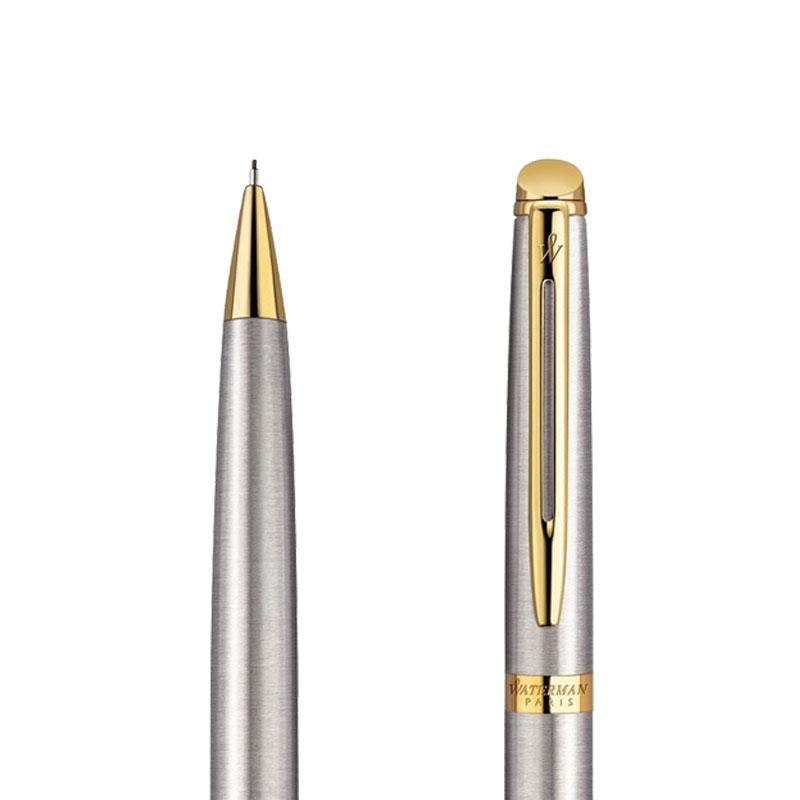 Ołówek Waterman Hemisphere stalowy GT w przekroju