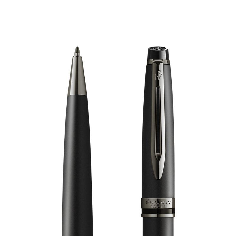 Długopis Waterman Expert Metalic Czarny [2119251] w przekroju