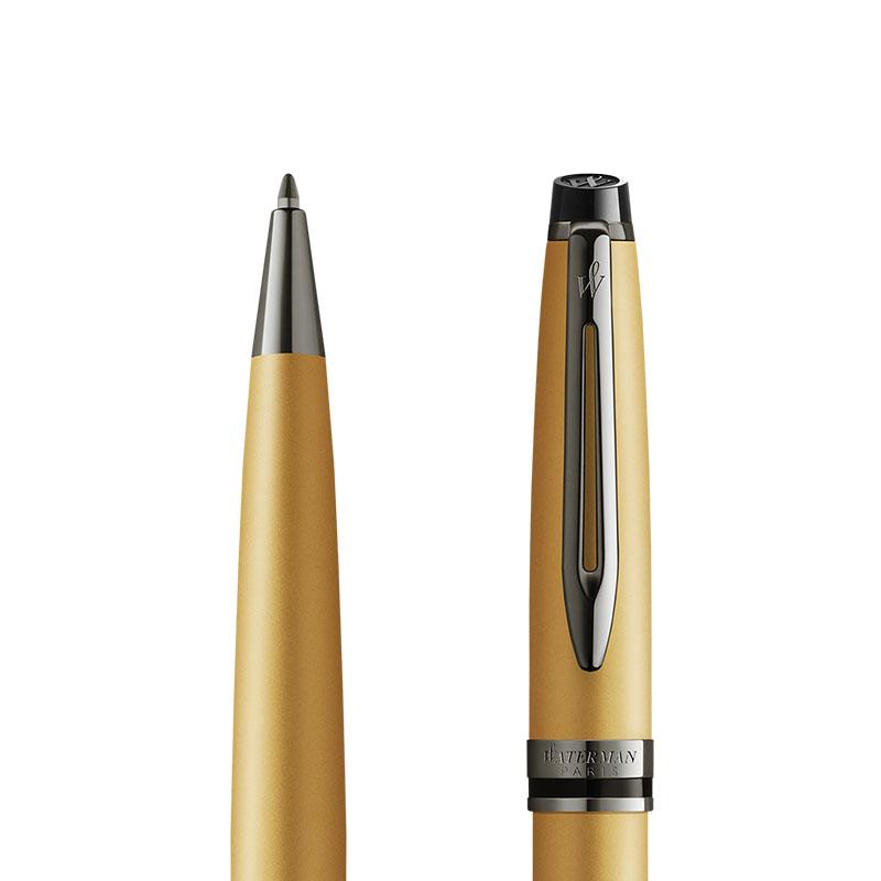 Długopis Waterman Expert Metalic Złoty [2119260] w przekroju