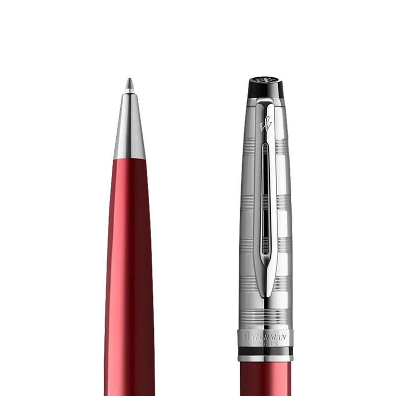 Długopis Waterman Expert czerwony CT [2093661] w przekroju