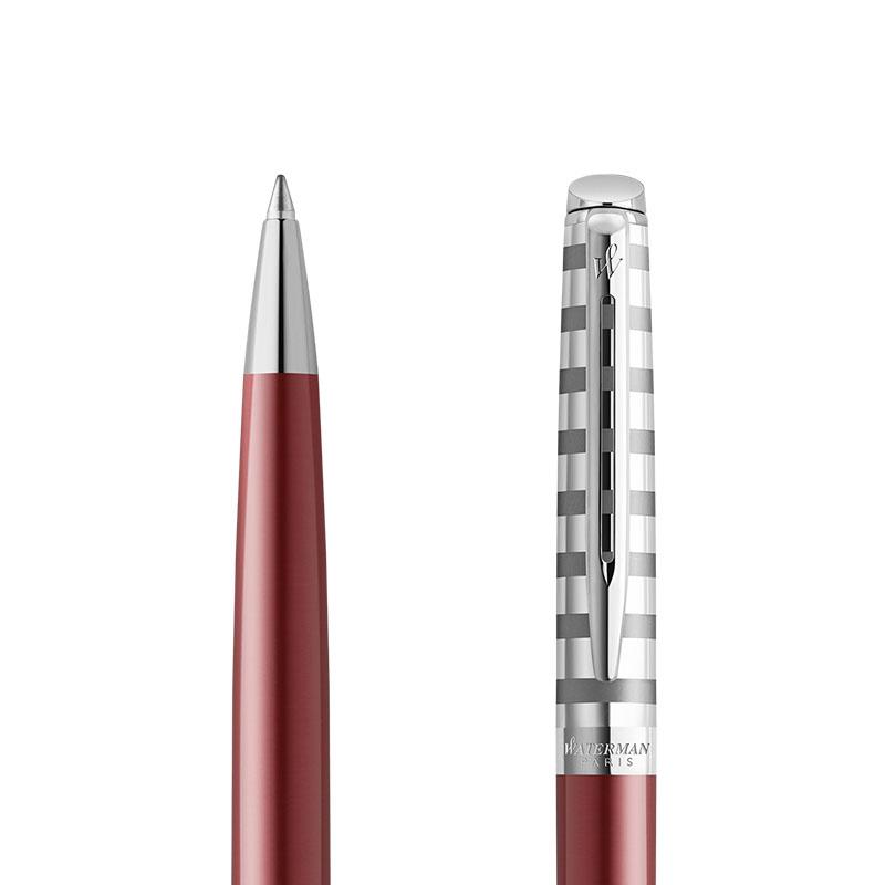 DługDługopis Waterman Hemisphere Delux Marine Red CT [2118292] w przekroju