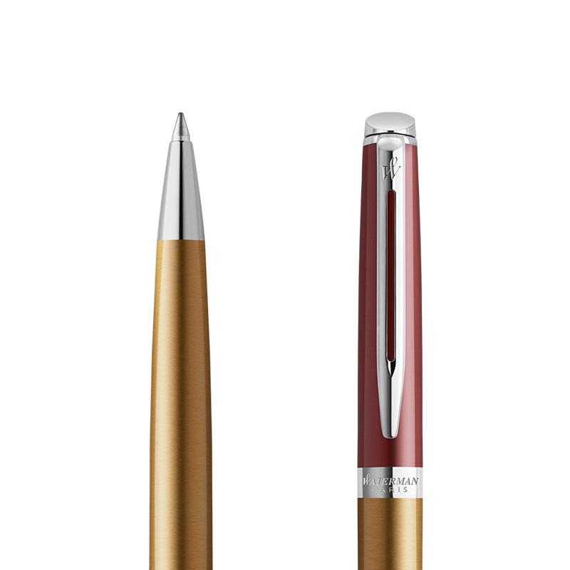 Długopis Długopis Waterman Hemisphere Delux Sunset Orange CT [2118236] w przekroju