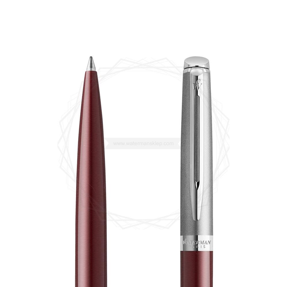Długopis Waterman Hemisphere Essential Czerwony CT [2146626] w przekroju