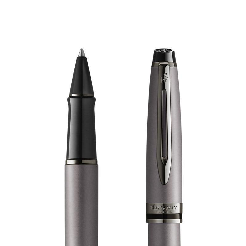 Pióro kulkowe Waterman Expert Metalic Srebrne [2119255] w przekroju