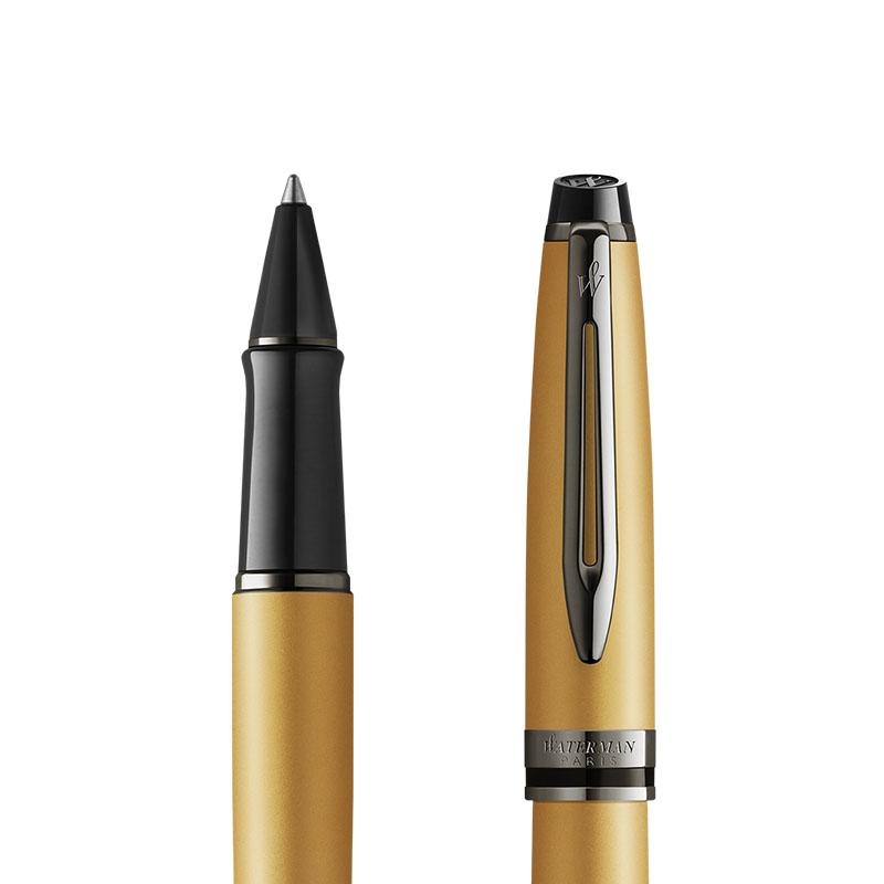 Pióro kulkowe Waterman Expert Metalic Złote [2119259] w przekroju