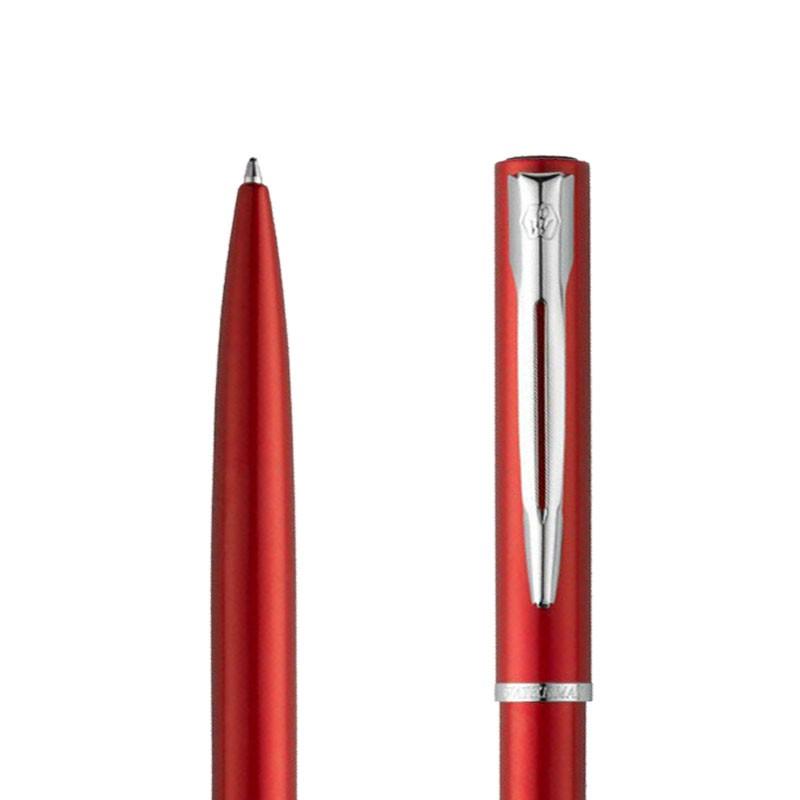 Długopis Waterman Allure czerwony CT w porzekroju