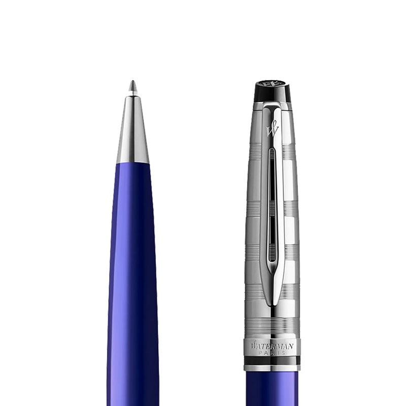 Długopis Waterman Expert niebieski CT [2093657] w przekroju
